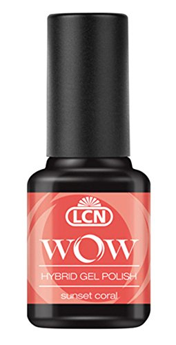 LCN WOW Hybrid Gel Polish - WOW 16 sunset coral