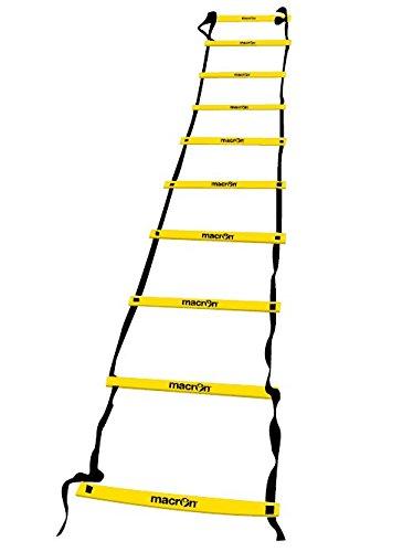 Maßstab Macron Trainingsleiter Agility Ladder 4Meter 10Sprossen Fußball Rugby
