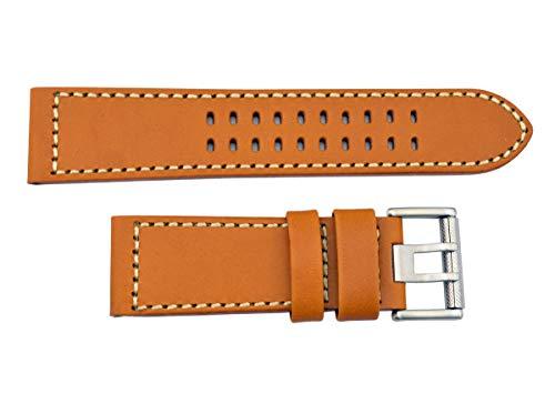 Luminox 1924 1944 Atacama Field 26mm Watch Band Strap Honey Tan Leather