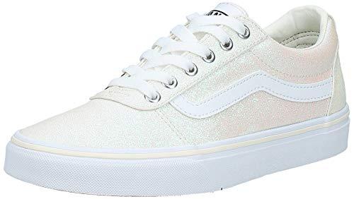 Vans Damen Ward Canvas Sneaker, Elfenbein ((Glitter Rainbow) White Xy2), 35 EU