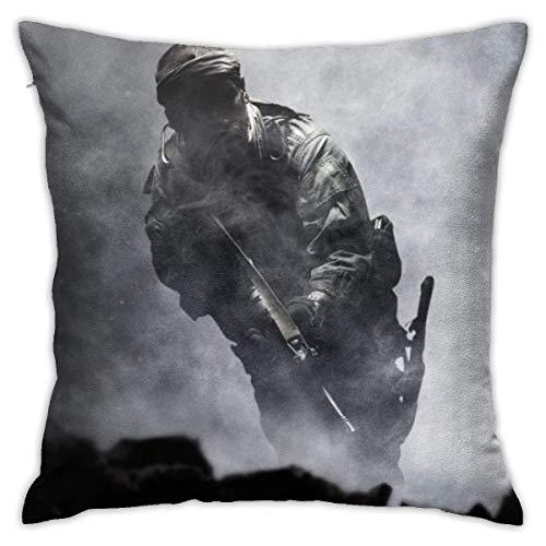 NHJYU Call-of-Duty Throw Pillows Fundas Fundas de Almohada Funda de cojín Moderna...