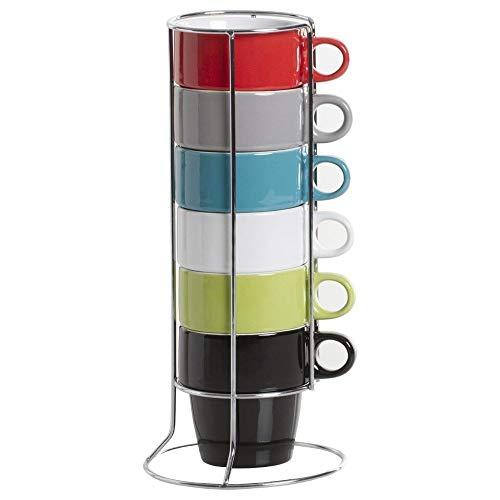Lot de 6 tasses FIVE SIMPLY SMART couleurs assorties...