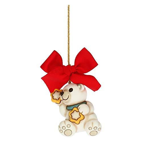 Scopri offerta per THUN - Addobbo per Albero di Natale, Orso Polare - Decorazioni Natale Casa - Formato Grande - Ceramica - 5,2 x 4 x 6,5 h cm