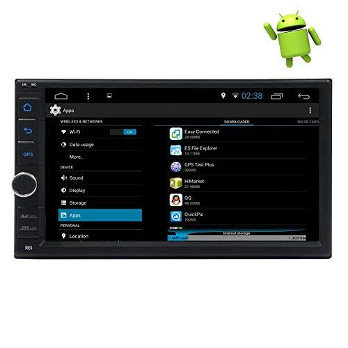 2Din Android 10.0 Double Din Navigatore stereo GPS Navigatore auto Bluetooth Autoradio...