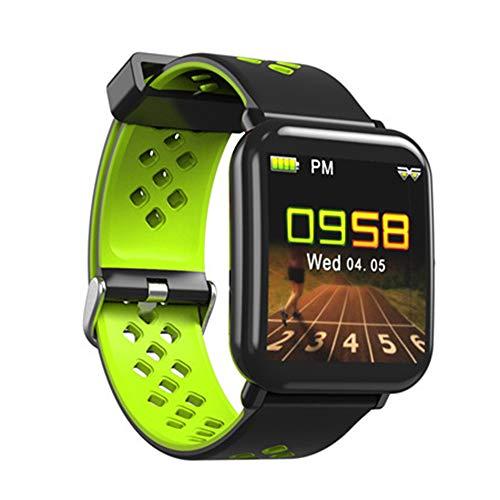 Smart Hartslag Armband Met Informatie Push-Remote Camera Functie Stappenteller Slaap Monitoring Van Slimme Sporthorloge,Green