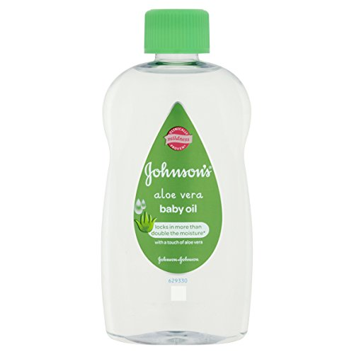 Johnson's Baby Oil with Aloe Vera 300 ml - Pack of 6