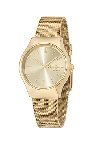 Pepe Jeans Orologio con Movimento al Quarzo Giapponese Woman JOEY 35.0 mm