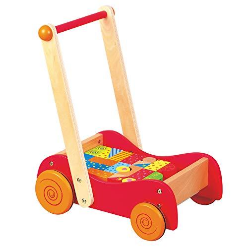 New Classic Toys 1300 andador Multicolor - Andadores (12 mes(es), Multicolor, 395 mm, 280 mm, 470 mm) ✅