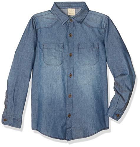 La mejor selección de Camisas de Mezclilla para Niños los mejores 10. 4