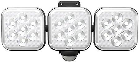 "Musashi RITEX 自由臂式LED感应灯(8W×3灯)""插座式"" 防雨型 LED-AC3024"
