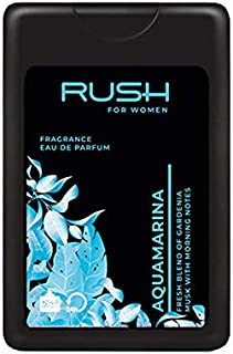 RUSH For Women - Aquamarina - Eau De Parfum - Pocket Perfume - 75% Alcohol - For Women - 16 Ml