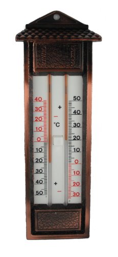 Koch Thermometer Min/Max.-Thermometer, Metall, mehrfarbig