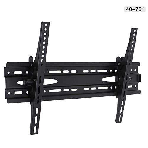 Tv-meubel TV muurbeugel tilt profiel laag voor de meeste 32-75 inch (32-75 inch) flatscreen voor thuis