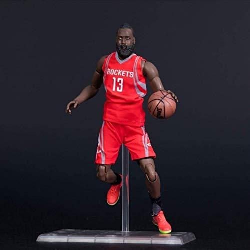 WSWJ Serie de la NBA No.13 James Harden Rockets Limited Edition Collector Figura 22 cm