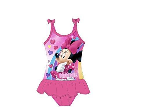 Disneys Minnie Mouse Badeanzug (98/104, pink) (Textilien)