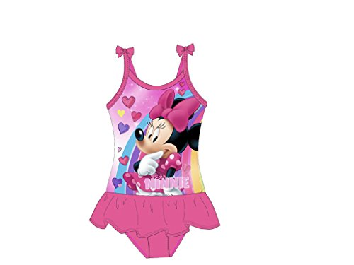 Disneys Minnie Mouse Badeanzug (122/128, pink)
