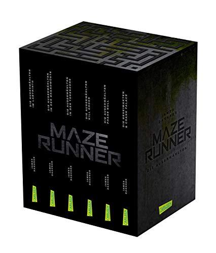 Maze-Runner-Schuber (6 Bände im Taschenbuch-Schuber inklusive Bonusband mit »Crank Palace« und »Die Geheimakten«) (Die Auserwählten – Maze Runner)