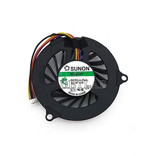 DBTLAP Ventilador de la CPU del Ordenador portátil para DELL Studio 1535 1555 1536 1537 1556 1558 PP33L PP33 Ventilador Independent Graphics