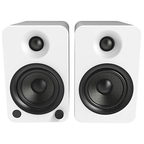 Kanto YU4 Powered Speakers with Bluetooth and Phono Preamp - (Pair) Matte White