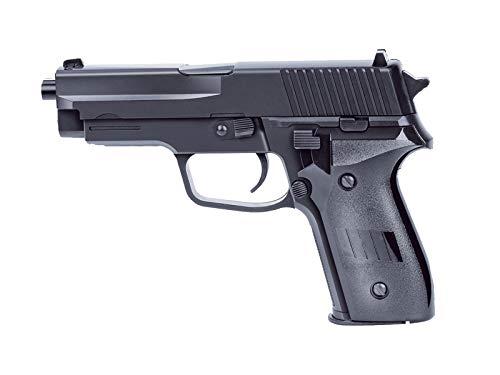 Rayline 2124 Plastik Softair Pistole (Federdruck) Gewicht 270 g, 6mm Kaliber, Farbe: Schwarz, Energie: <0.5 Joule