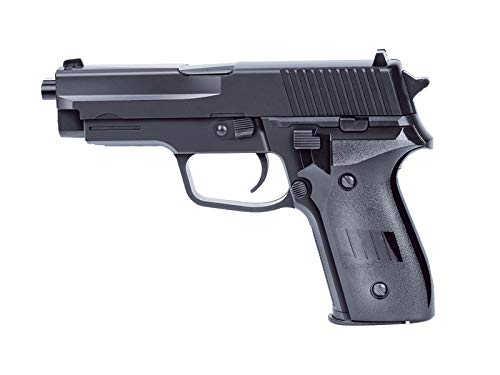 Pistola de plástico Airsoft Rayline 2124 (presión de Resorte) Peso 270 g, Calibre 6 mm, Color: Negro, energía: <0.5 Julios