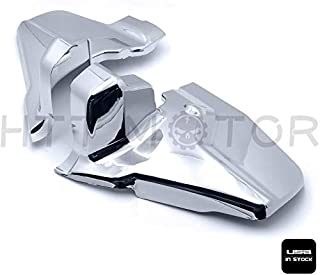 SMT-Chrome Engine Lower Side Frame Covers Compatible With Honda Goldwing GL1800 2001-2011 02 03 [B076GZ34G8]