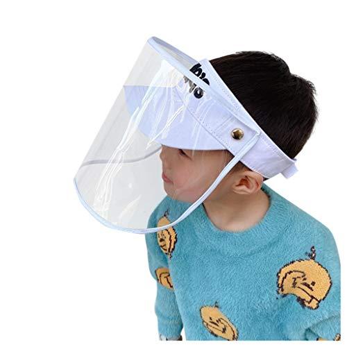 Julhold Nio a prueba de polvo tapa de malla anti-escupir sombrero de verano lindo impresin cubo sombrero