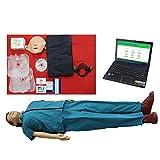 AIOXY Professionel Erwachsene mittlere Haut Modell PC Ausführung CPR-Trainingsmodell -
