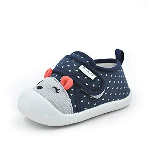 Zapatos para Bebé Primeros Pasos Zapatillas Bebe Niña Bebe Niño 0-2 año de Edad Talla del fabricante 16