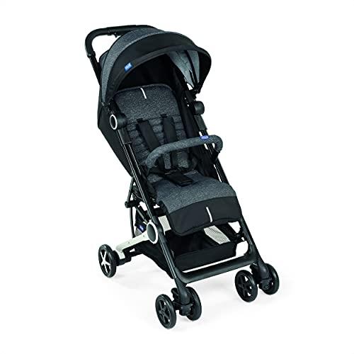 Chicco Miinimo 3 - Silla de paseo ultra compacta y ligera, solo 6 kg, color negro (Jet Black)