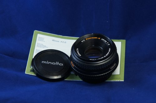 Minolta Rokkor-x 45mm 1:2
