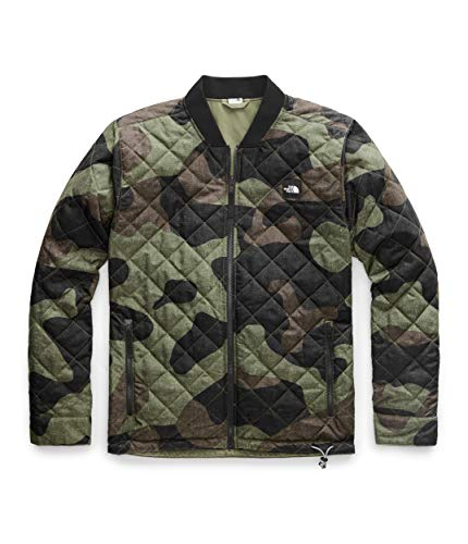 The North Face Men's Jester Jacket, Four Leaf Clover Terra Camo Print, Small