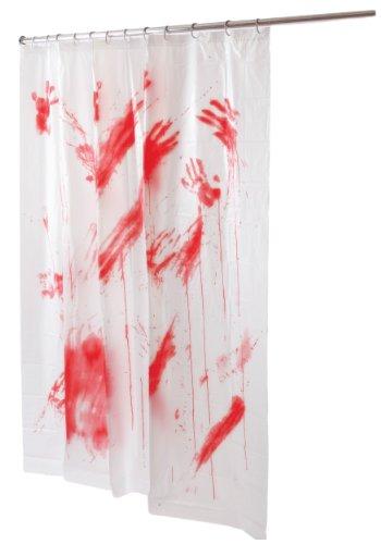 Bloody Shower Curtain Standard