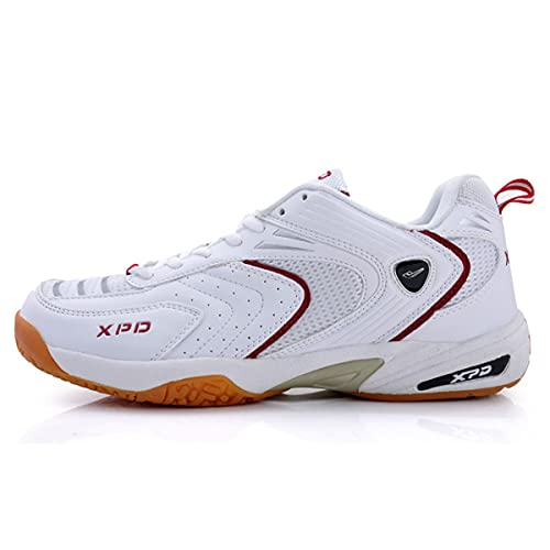 Zapatillas De Bádminton para Hombre, Zapatos De La Cancha De Voleibol Zapatos De Tenis Transpirables Livianos Zapatos De Tenis Antideslizantes para Caminar