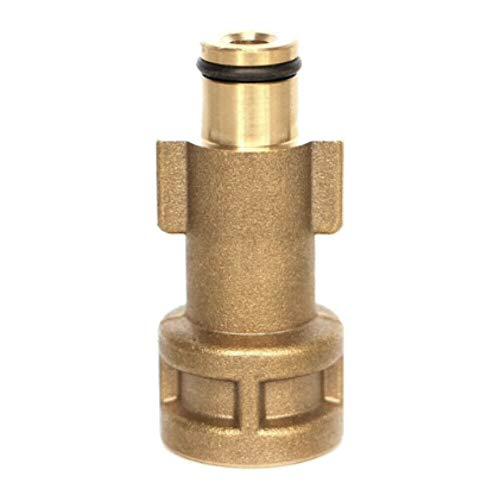 "M&M Smartek Adapter für Kärcher Parkside Nilfisk, Quick Click, Easy!Lock TR22, Bosch G1/4 IG, M22x1,5 AG, Black & Decker 1/4\"" IG, Bajonett Alto 1/4\"" IG, LAVOR Parkside 1/4\"", M22 x 1,5 AG etc."