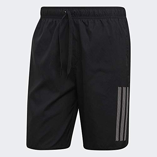 adidas Herren 3S SH CL Swimsuit, Black, M