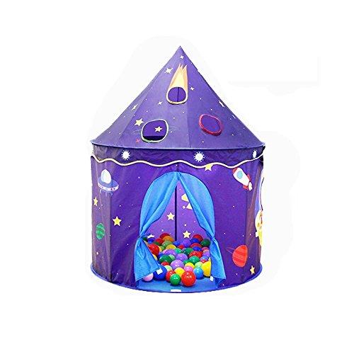QAR Innen-Prinzessinmädchen IKEA-Marineballballspielhaus-Schloss Der Kinder Zelt Der Kinder Zelt (Color : Tent+Cushion+Ball, Size : 2)