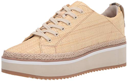 Dolce Vita Women's Tinley Sneaker, LT Natural Raffia, 8.5