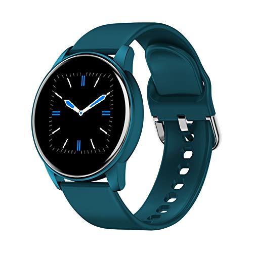 LIGE Smartwatch, Relojes Inteligentes Monitor de Frecuencia Cardíaca IP67 Impermeable 1.3 Pulgadas Táctil Completa Rastreador de Actividad Deportiva para Hombre para iOS Android