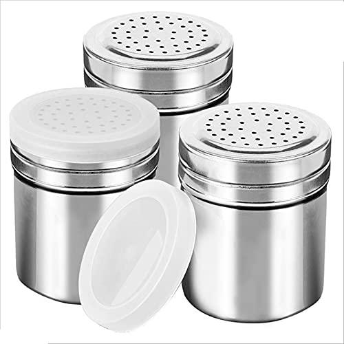 3 stks Rvs Zout Peper Shaker Set Creature Box Cooking Seizoensfles Barbecue Tool Keuken Harb en Spice Tools