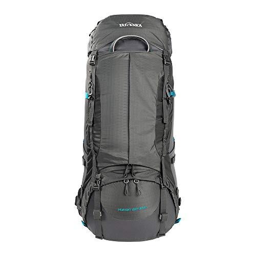 Tatonka Yukon 60+10 Women - Trekkingrucksack mitgroßer Frontöffnungfür Damen - 70 Liter -titan grey