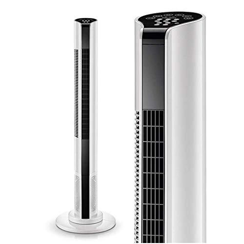 Ventilatore Di Aria Condizionata Ventilatore A Torre Portatile Con Telecomando Silenzioso, Ventilatore A Colonna Ventilatore Di Aria Condizionata A Torre 3 Velocità Del Vento 3 For Casa E Ufficio