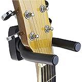 Ogquaton 1 stücke Gitarre wandhaken Gitarre Display Halterung bass wandhalter Anzug für alle Gitarren, bass, Violine, Ukulele und Geige schwarz praktisch und nützlich