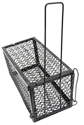 Ratoeira Tipo Gaiola de Metal Armadilha Para Rato Ratazana e Camundongo (9197)