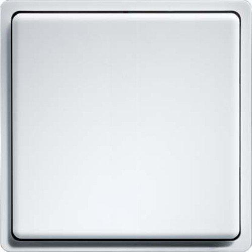 Eltako Funk-Minitaster, Batterie-undleitungslos mit Wippe, 1 Stück, reinweiß glänzend, FMT55/2-WG