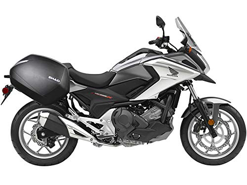 Shad H0NT75IF Soporte Maletas 3P System para Honda Nc750X, Negro