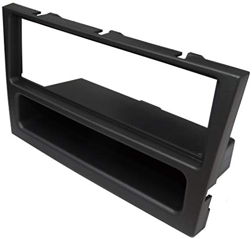 AERZETIX: Marco adaptador 1DIN cubierta plástica moldeado para el cambio de autoradio original con un radio estándar del coche vehículos automóvil