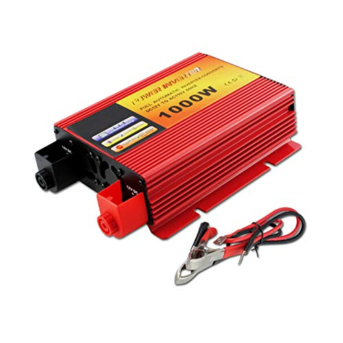 Golden Tech 1000W Car Power Inverter DC 12V to AC 110V Converter W/Dual Converter Chargers