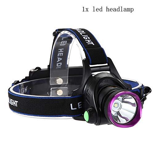 Haute lumens LED phare T6 / L2 phare lampe de poche lampe frontale lumière pour camping en plein air T6 6000LM A1