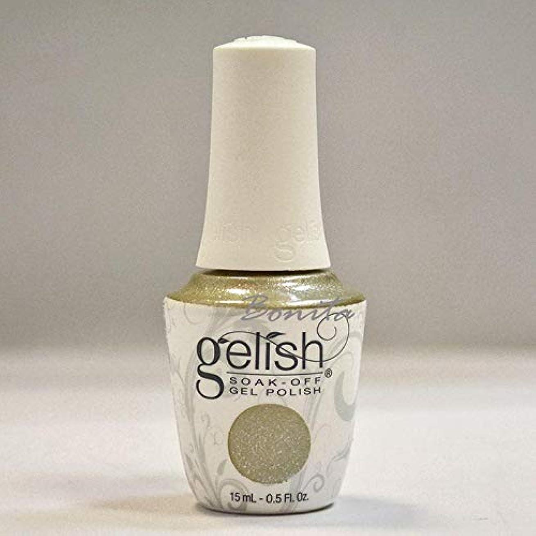 ぼんやりしたバッチ温帯Harmony Gelish Gel Polish - Give Me Gold - 0.5oz / 15ml